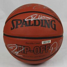 All Star Game Slam Dunk Champions Spalding NBA Basketball Signed by 13 Players