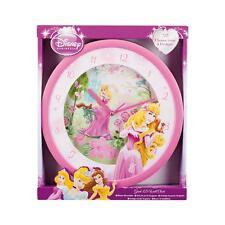 Disney Princess 3D Wall Clock Asst