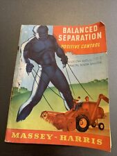 Vintage Massey Harris Famous Firsts In Combine Super 27 Booklet