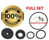 Heater Control Valve Repair Kit for BMW E46, X3, Z8 + BRUSHES SET