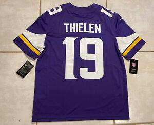 NWT NIKE Minnesota Vikings Adam Thielen SEWN NFL Jersey Men's Large MSRP $150