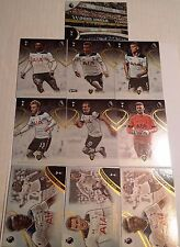 2017 TOPPS PREMIER GOLD SOCCER TOTTENHAM TEAM SET 9 CARDS + WHITE HART LANE CARD