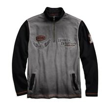 Harley-Davidson Men's Iron Block 1/4-Zip Pullover Gr. XXL  Herren Sweater