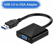 USB 3.0 to VGA Adapter Multi-Display Video Converter PC Laptop Windows Computer