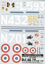 Colorado Decals 48019 1:48 Morane-Saulnier MS.406C1 Part 1.