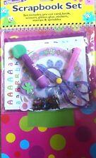 Kids Scrapbook Set Activity Art Craft Set Kit Chidren New