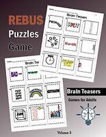 Brain Teasers Rebus Puzzles Games: Rebus Puzzle Books Brain Teasers,Word Plex…