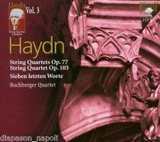 Haydn: String Quartets (Quartetti) op.77, op.103 Vol 3 / Buchburger Quartet - CD