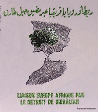 LIAISON DETROIT GIBRALTAR MAROC MOROCCO ENVELOPPE PREMIER JOUR FDC MA976