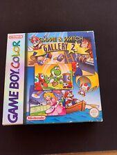 Game & Watch Gallery 2 (Nintendo Game Boy Color, 1998) CIB très bon état