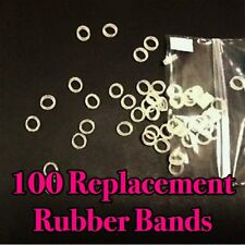 100 Count Bag Replacement Rubber Bands for COIN BITE QUARTER & FOLDING QUARTER