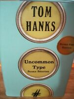 Tom Hanks Uncommon Type Some Stories Signed First Edition 2017 Knopf Publishing