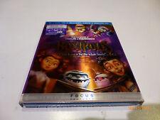 The Boxtrolls 3D/2D(Blu-ray/DVD, 2015, Digital Copy) NEW w/lenticular slipcover