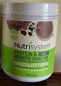 💕Nutrisystem Chocolate Fudge Probiotic Shake BB 9/7/22 POWERFUEL SNACK