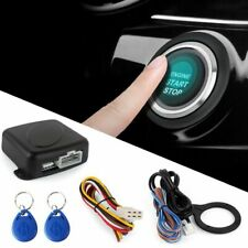 Smart RFID Car Alarm System Push Engine Start Stop Button Lock Ignition A4V8