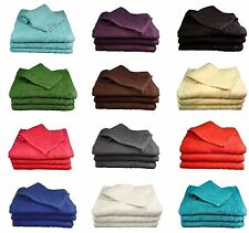 Egyptian Cotton Solid Pattern Bath Towels