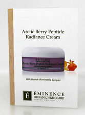Eminence Arctic Berry Peptide Radiance Cream Sample Size 0.10 Ounce (Pack of 10)