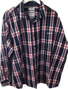 Lambretta Check Shirt Virtually New  XXL / XXXL 60 Inch Chest Mod retro