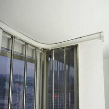 Corner Curtain Track Durable Ceiling Mounted Bendable Curved Rod Kit Flexi 3Met