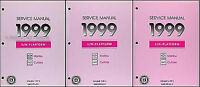 1999 Malibu and Cutlass Shop Manual Set Service Chevy Chevrolet Olds Oldsmobile