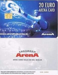 Arenakaart A142-02 20 euro: Zomer 2014