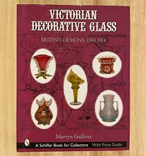 VICTORIAN DECORATIVE GLASS: British Designs 1850-1914  (LIKE NEW)