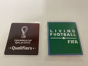 FIFA Qatar 2022 World Cup qualifiers jersey patch - iron-on
