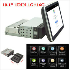 "10.1"" Single Din 1DIN Android 8.1 Car Stereo Radio GPS 1G&16GB Rotatable Screen"
