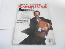 FEB 1985 ESQUIRE mens fashion magazine SUCCESS