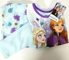 New DISNEY FROZEN 2 Girls Size 5/6 Flannel Sleepwear 2-PIECE SET Pajamas