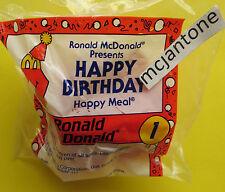 MIP McDonald's 1994 Happy Birthday Train #1 RONALD McDONALD Meal Box CABOOSE