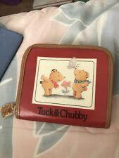 Sanrio Vintage Tuck & Chubby Tear Bear Wallet 1994