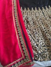 Bollywood Indian Pakistani Lehenga Choli Lenga Designer Semi Stitched