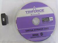 Virtua Striker 2002 Sega Triforce GDT-0002 GD-Rom Arcade/JVS/Jamma usato