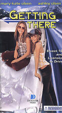 Getting There (VHS, 2002, Clam Shell Packaging) Mary Kate Olsen Ashley