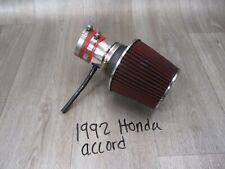 1992 92 Honda Accord Automotive Auto Car Air Filter Hose Tube