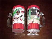 1990s Cleveland Indians Kenny Lofton Photo Baseball Cup