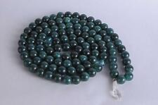 Tibetan Mala Prayer Beads Turquoise Color Stone Beads Crystal Quartz Pendant