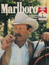 Marlboro Zigaretten - Reklame Werbeanzeige Original-Werbung 1980 (1)