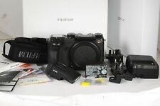 Fuji Fujifilm GFX 50S Medium Format Mirrorless Camera Mint in Box Shutter 6357