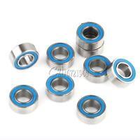 10PCS MR105-2RS Rubber Sealed Ball Bearing Miniature Bearing 5 x 10 x 4mm