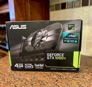 💥 Asus GeForce GTX 1050 Ti 4GB Phoenix Graphics Card 💥 ✈️SHIPS FEDEX 2-DAY✈️