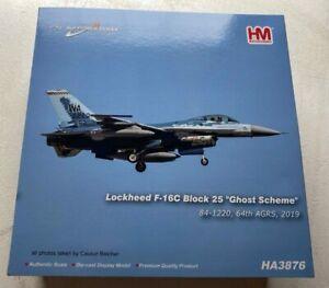 "Hobby Master Lockheed F-16C Block 25 ""Ghost Scheme"" 64th AGRS 1:72 HA3876"