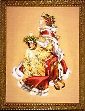 """SALE! COMPLETE XSTITCH KIT """"ROYAL HOLIDAY MD78"""" by Mirabilia"""