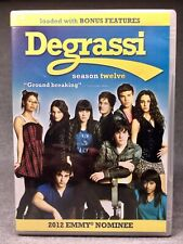 DEGRASSI Season 12 Complete 3-DVD Set 38 Episodes + Bonus Features NEW SEALED
