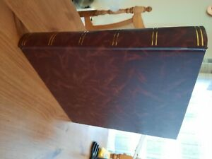 Brown leather Photo album. Never used.