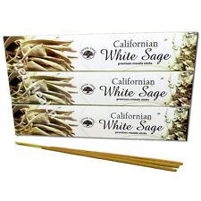 3 x Californian White Sage Green Tree Masala Incense/Joss Sticks Insence/Insense
