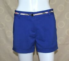 Burberry London Shorts Nova Check Waistline design