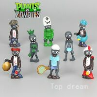 80X Plants vs Zombies Toys Series Game Role Figure Display Toy Doll Cape Toppers