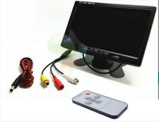 7'' TFT LCD Screen Car Monitor Reversing Rearview Backup Camera Rear View VCR US